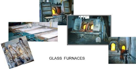 glass furnaces