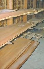 Sawn veneers for blog