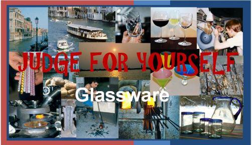 glassware header