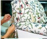 Sewing upholstery to chair blog