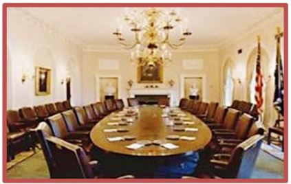 oVAL WHITE HOUSE TABLE